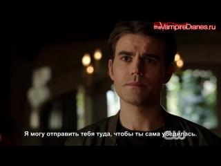 The Vampire Diaries 8x10 Extended Promo - Nostalgias a Bitch [Русские субтитры]