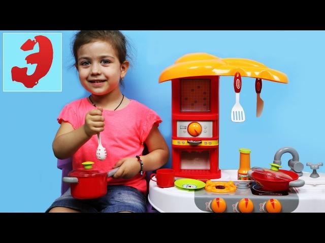 Детская передача Готовим вместе с Эмилюшей Играем в кухню Видео для детей