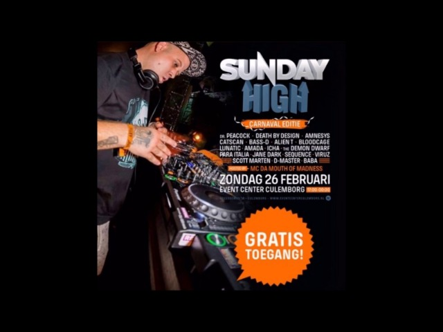 The Demon Dwarf @ Sunday High - The Carnaval Edition (Warm Up Mix) [HQ]