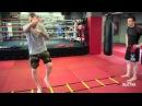 Лесенка для боксеров тренировка по боксу на координационной лестнице
