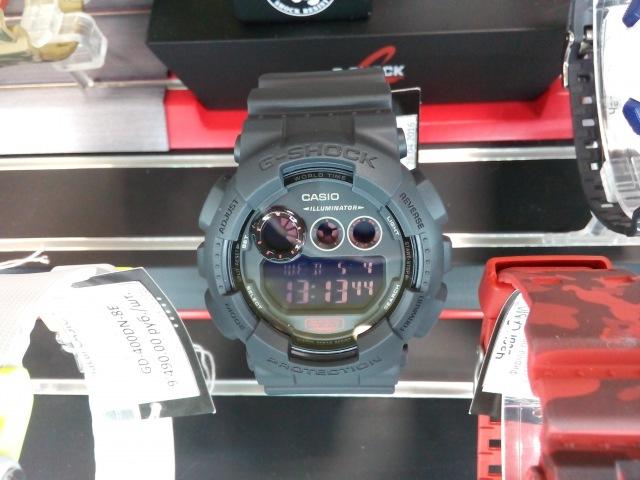 Cs-time.ru CASIO G-SHOCK GD-120MB-1E. Противоударные водонепроницаемые часы.