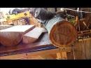 Распил рябины клена и других пород древесины
