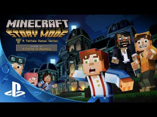 Minecraft: Story Mode – Episode 6: 'A Portal to Mystery' Launch Trailer | PS4, PS3