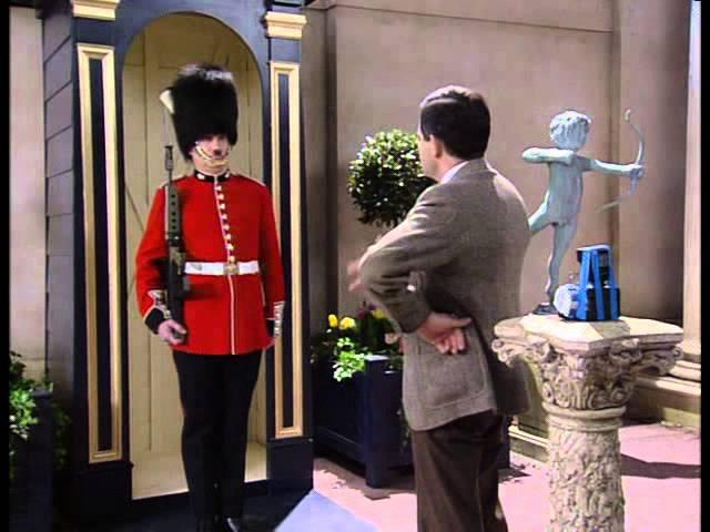 Мистер Бин и гвардеец