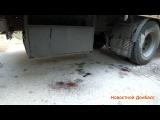 Тела погибших ополченцев доставили в морг / The bodies were taken to the morgue of militias