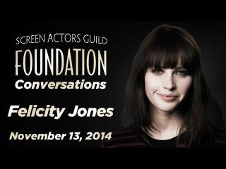 Conversations with Felicity Jones