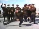 Soviet Army dancing to Hard Bass