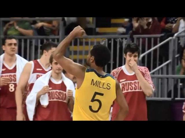 Patty Mills Game Winner vs Russia Olympics 2012