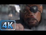 Captain America The Winter Soldier - Nick Fury Assassination Attempt
