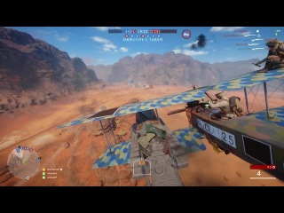 How to beat a flying tank: You don't.