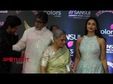 Amitabh Bachchan, Aishwarya Rai &amp Shahrukh Khan At Sansui Colors Stardust Awards 2016