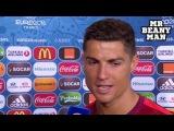 Интервью Криштиану Роналду после финала Евро 2016