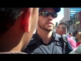 Toronto Police vs Christians at Gay Pride Parade 2012