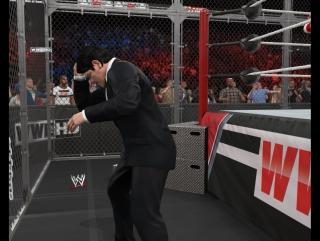 WWE 2K15...Del Cena Punk...Джентельмены в клетке...