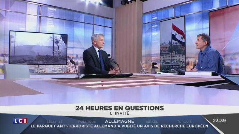 Alep Eric Décéné dénonce la falsification de linformation par les médias