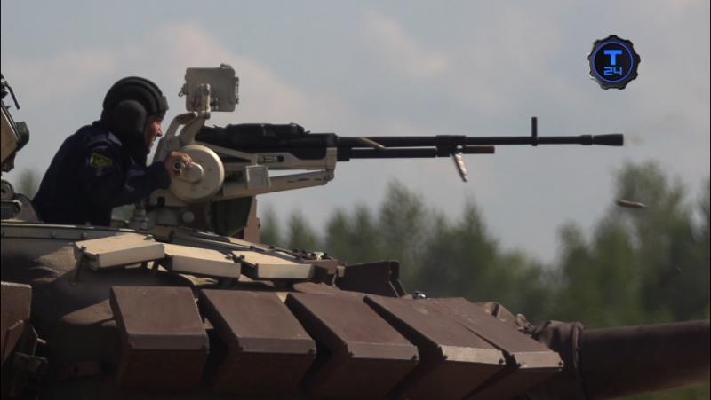 Танковый биатлон. Огневые рубежи — Пулемет «Корд»
