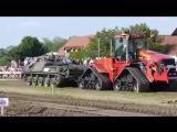 VS. Танк против трактора.