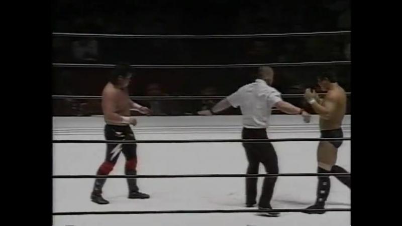 Tatsuo Nakano Vs Hiromitsu Kanehara(13-04-1994)