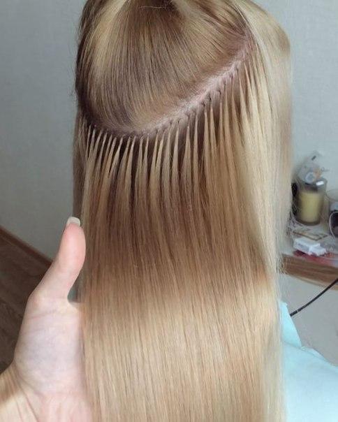Капсульное наращивание волос в минске цены