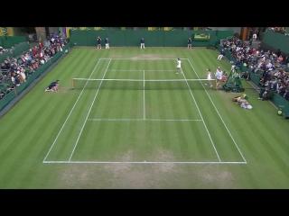 Martina Hingis - Sania Mirza vs Anna-Lena Friedsam - Laura Siegemund (2016 Wimbledon - 1st Round)