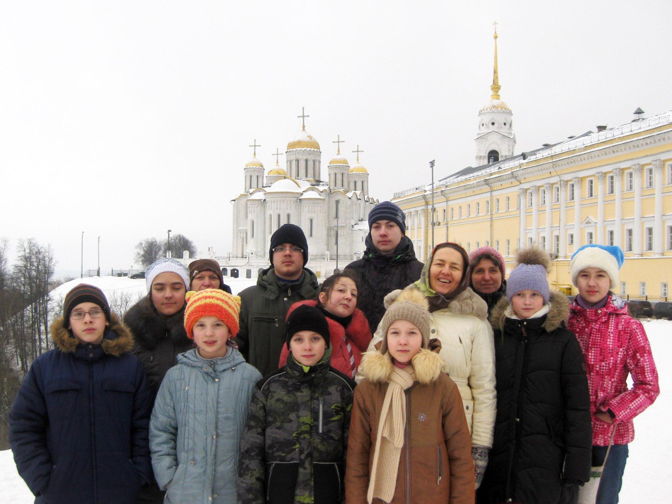 Свято-Успенский кафедральный собор г.Владимира