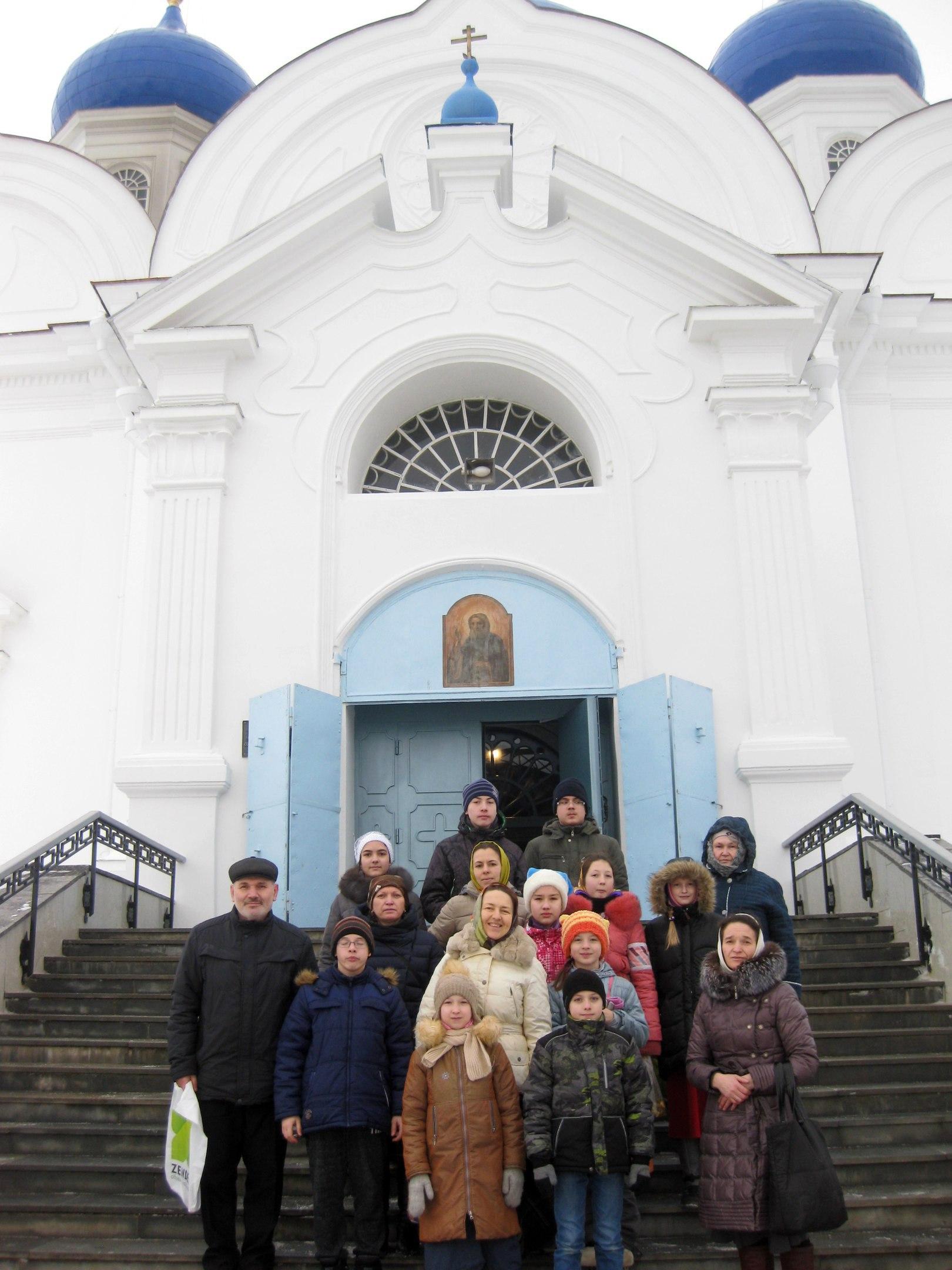 """Паломничество воскресной школы """"Вертоград"""" во Владимир и Боголюбово"""