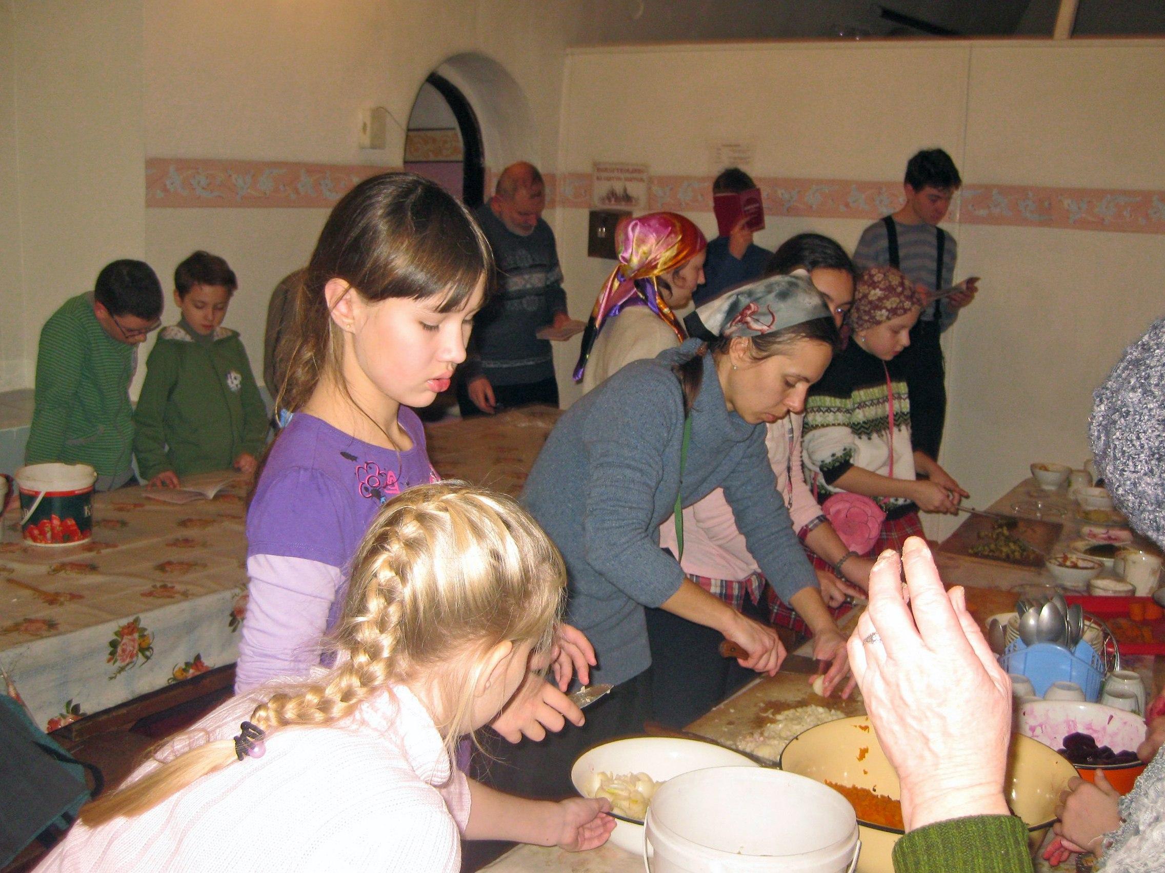 Послушание в Боголюбском монастыре