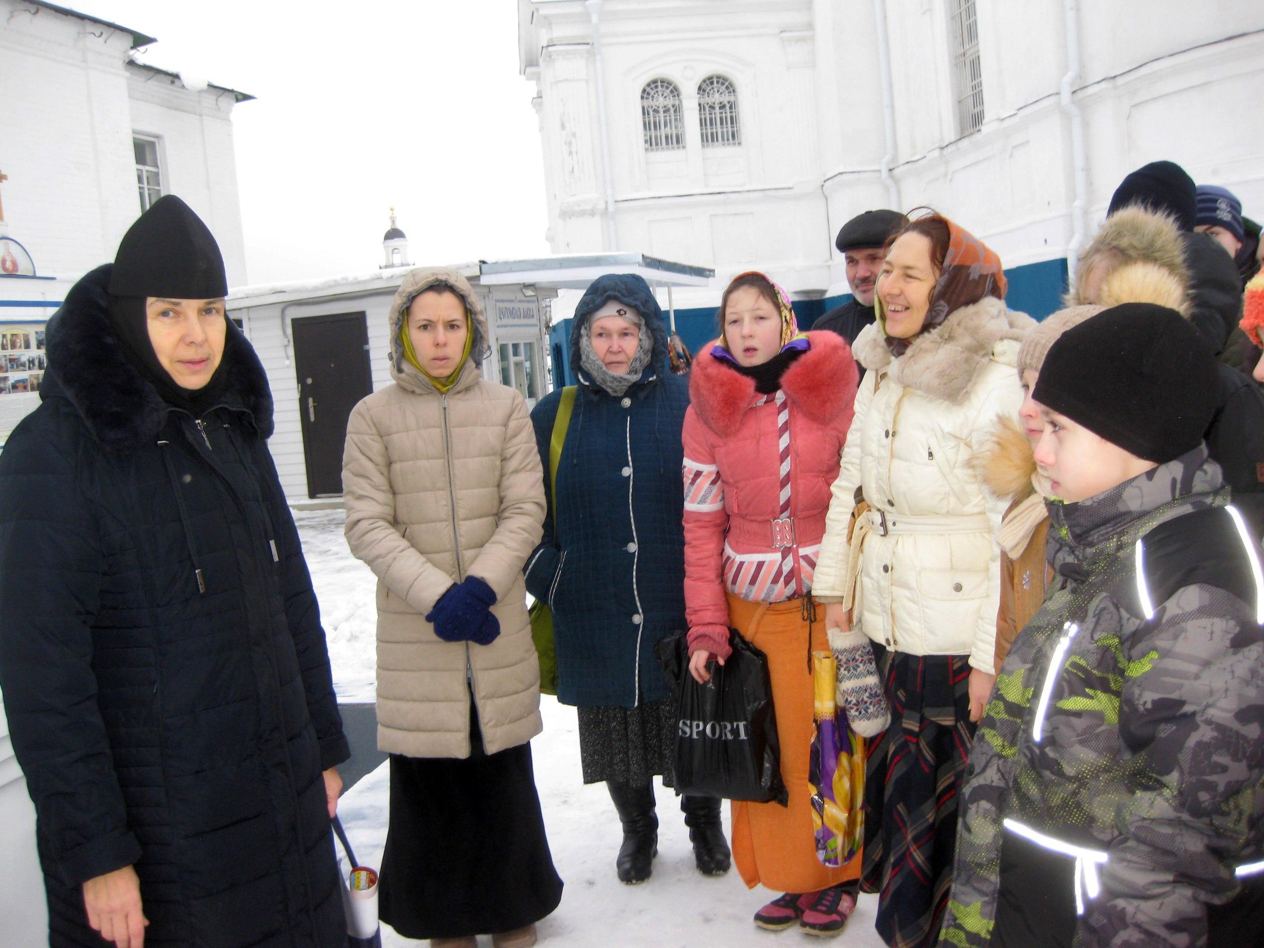 Экскурсия в Боголюбском монастыре