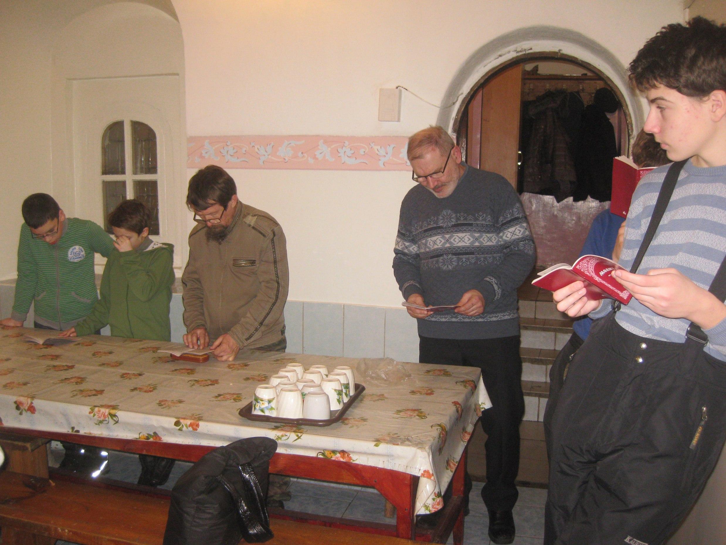 Молитвенное правило в Боголюбском монастыре