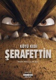 Плохой кот Шерафеттин / Kötü Kedi Serafettin (2016)