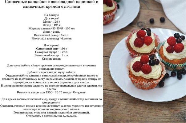 Украшения для кексов рецепты