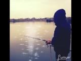 Вчера на рыбалке был нежданчик!😂