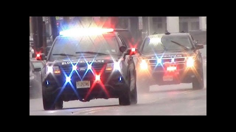 Police Car Responding Compilation - Best Of 2016