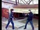 Борец против боксёра - The wrestler against the boxer