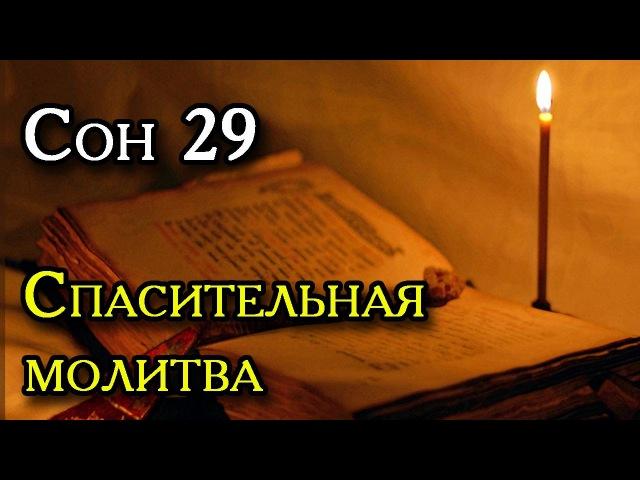 Сон Пресвятой Богородицы 29 - Спасительная молитва