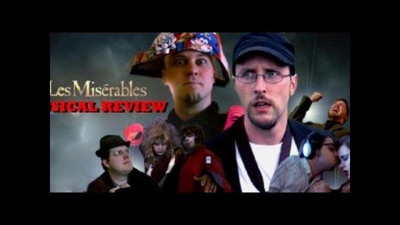Nostalgia Critic 236 - Les Miserables (rus sub)