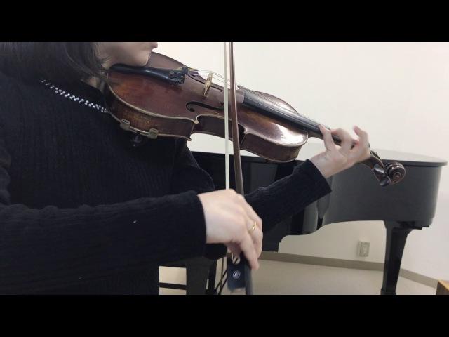 【ユーリ_on_ICE】【Violin Cover】【OP】History Maker 弾いてみた
