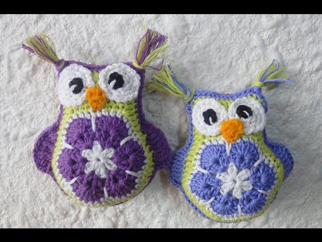 Совушка Вязание крючком The Owl Crochet
