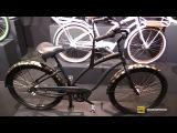 2017 Electra Bicycles Glam Punk 3i Bike - Walkaround - 2016 Eurobike