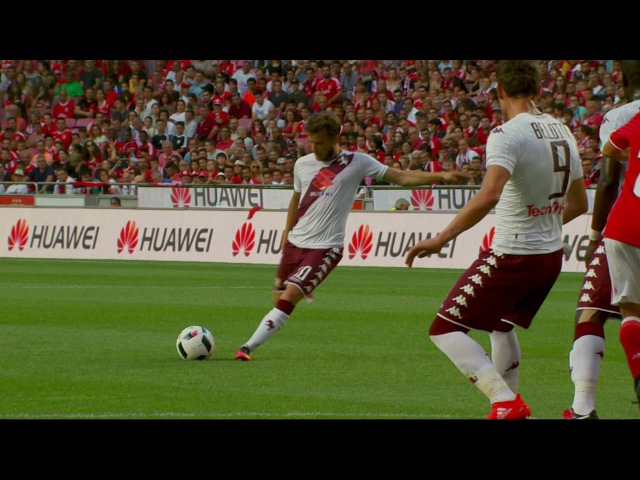 Adem Ljajic debut golazo for Torino vs Benfica HD
