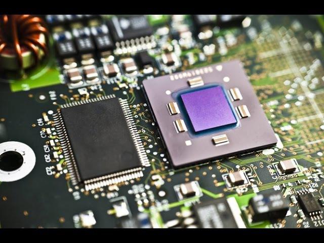 Как работает процессор CPU микрочип, как делают процессоры, из чего делают микропроцессоры.