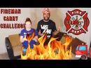 Fireman Carry Challenge! 🚒🔥