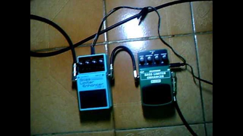 Comparação Behringer BLE100 e Boss LMB-3 Bass Limiter/Enhancer