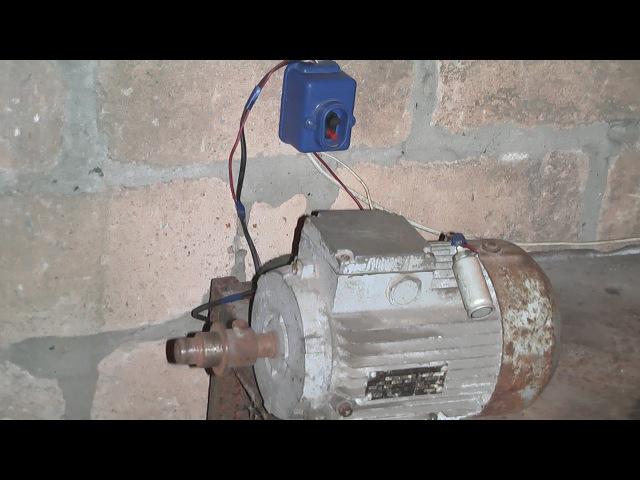 Как подключить трёхфазный электродвигатель к 220в с конденсатором и кнопкой пускателем