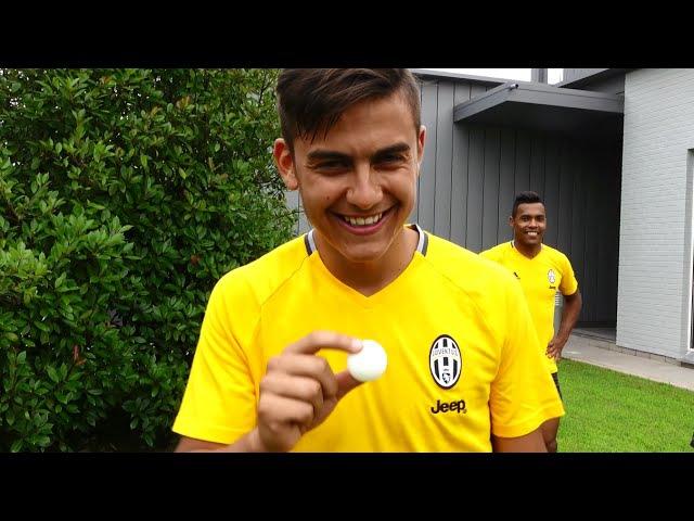 Juventus put their tennis tekkers to the test! - Gara di palleggi... particolari