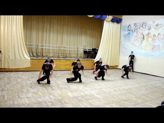 РУССКИЕ ХЛОПУШКИ на открытом занятии в Народном ансамбле танца РАДОСТЬ, г. Дн-вск