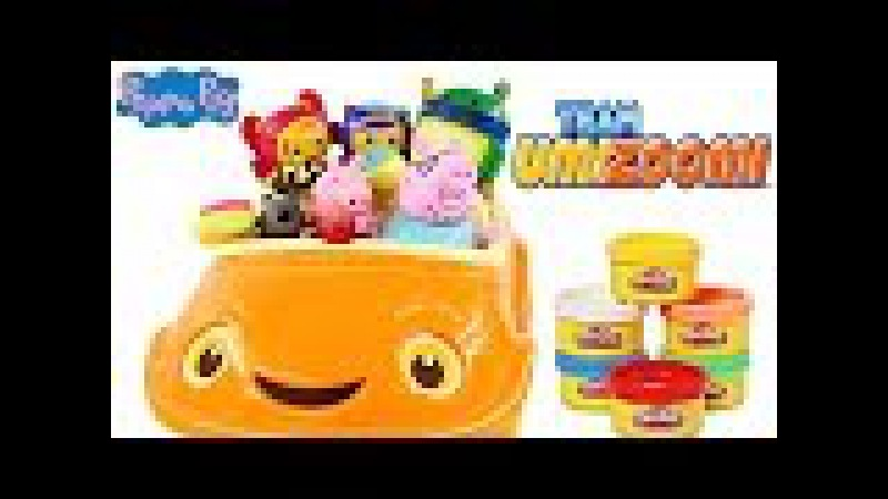 Team Umizoomi Umirrific Umicar Fisher-Price Peppa Pig Play Doh Danny Dog Geo Bot Toys