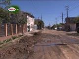 На пересечении улиц Кабардинская и Апсха Леона были проведены  работы по замене ...