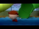 Аркадий Паровозов спешит на помощь. Горки в аквапарке. (Новая серия 92). Мультики для детей.