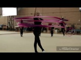 Rhythmic gymnastics  Soldatova, Kudryavtseva, Mamum &amp group - Sia The Greatest